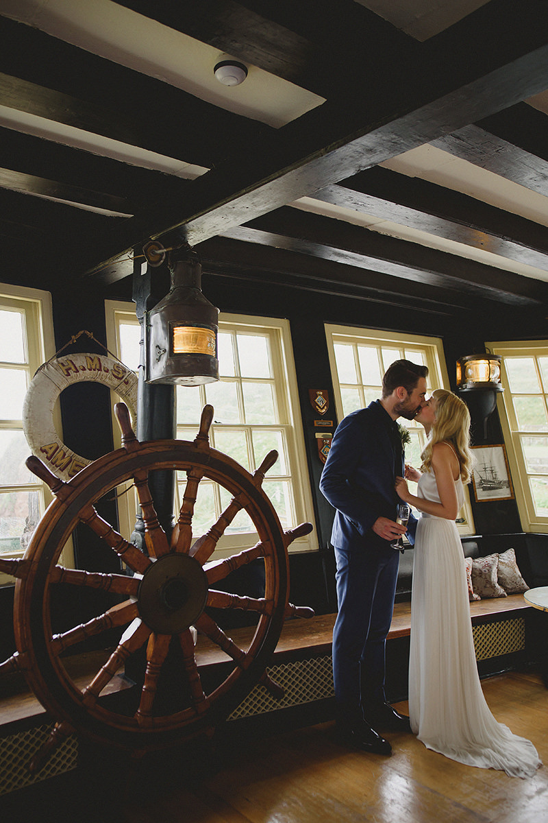 burgh island wedding photographer