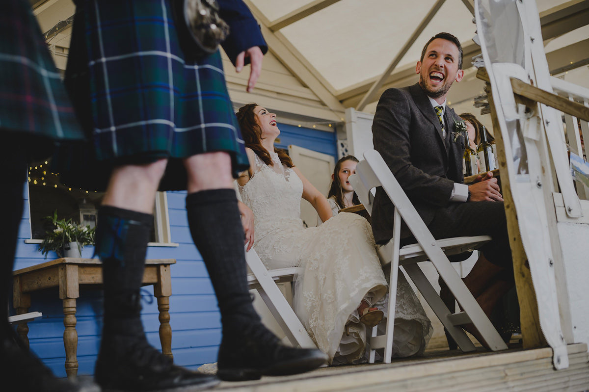 lusty glaze beach wedding photographer