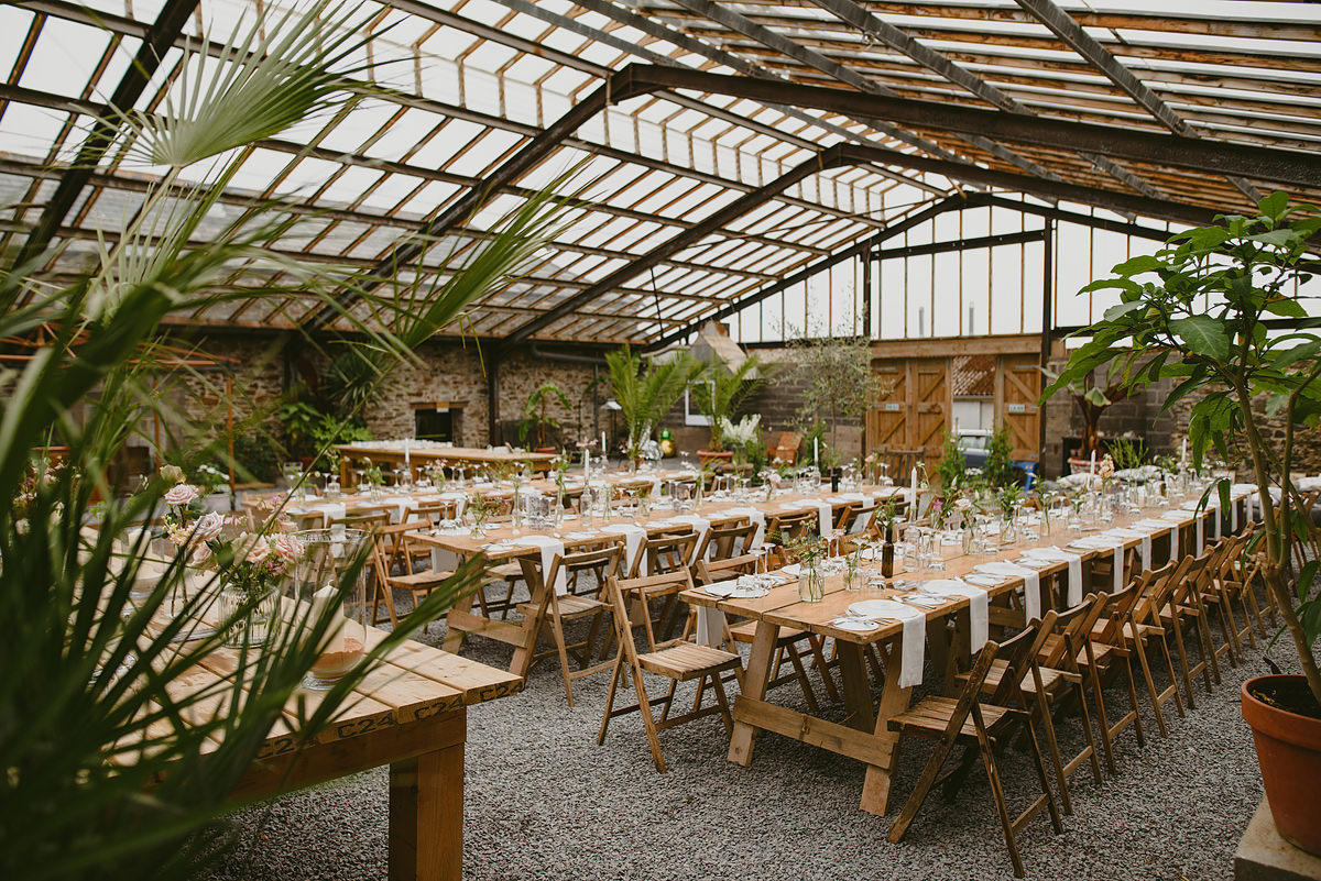 Anran glasshouse wedding