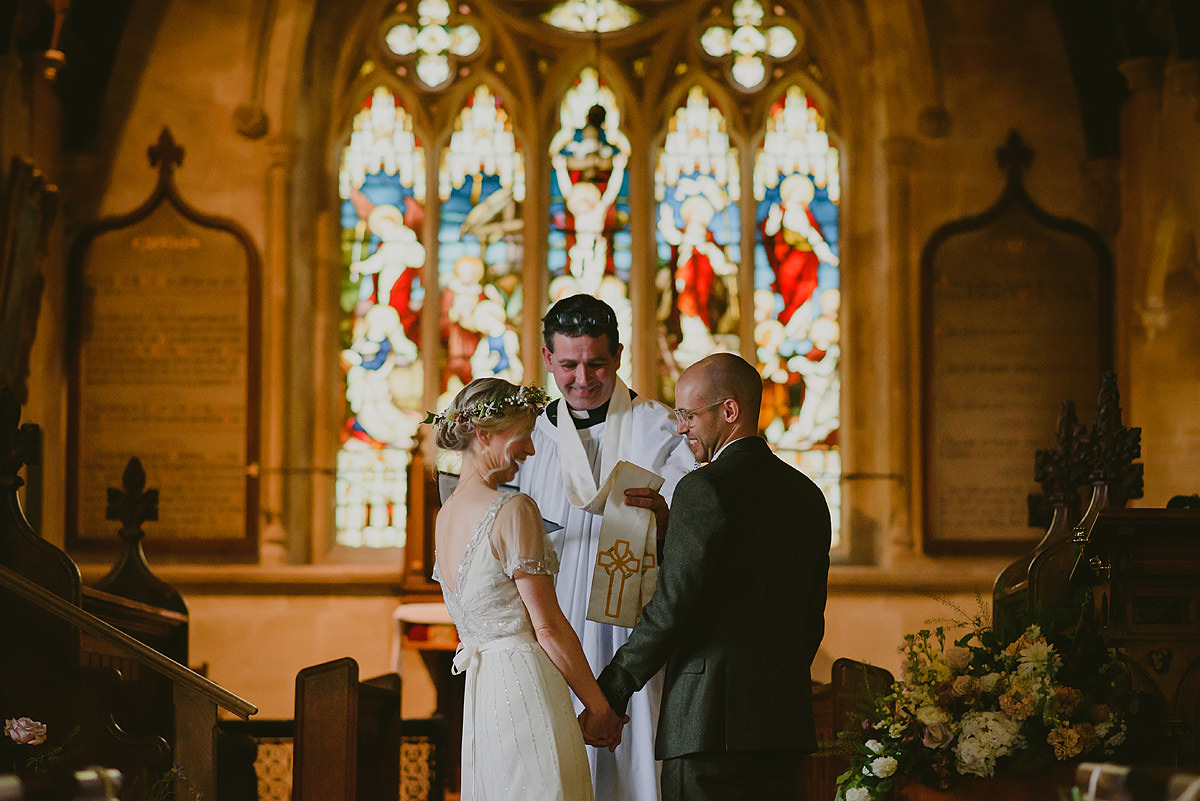 St Matthew Church wedding photo