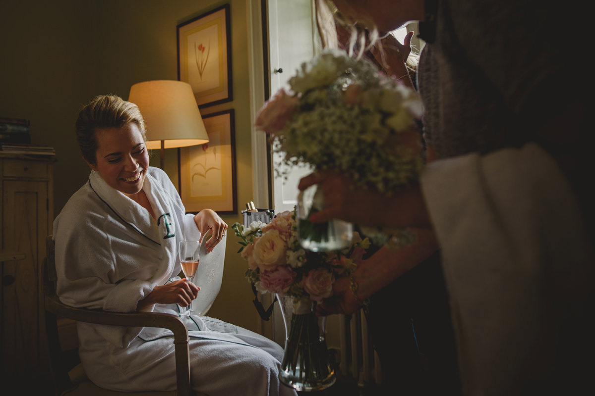 Hotel Endsleigh wedding flowers