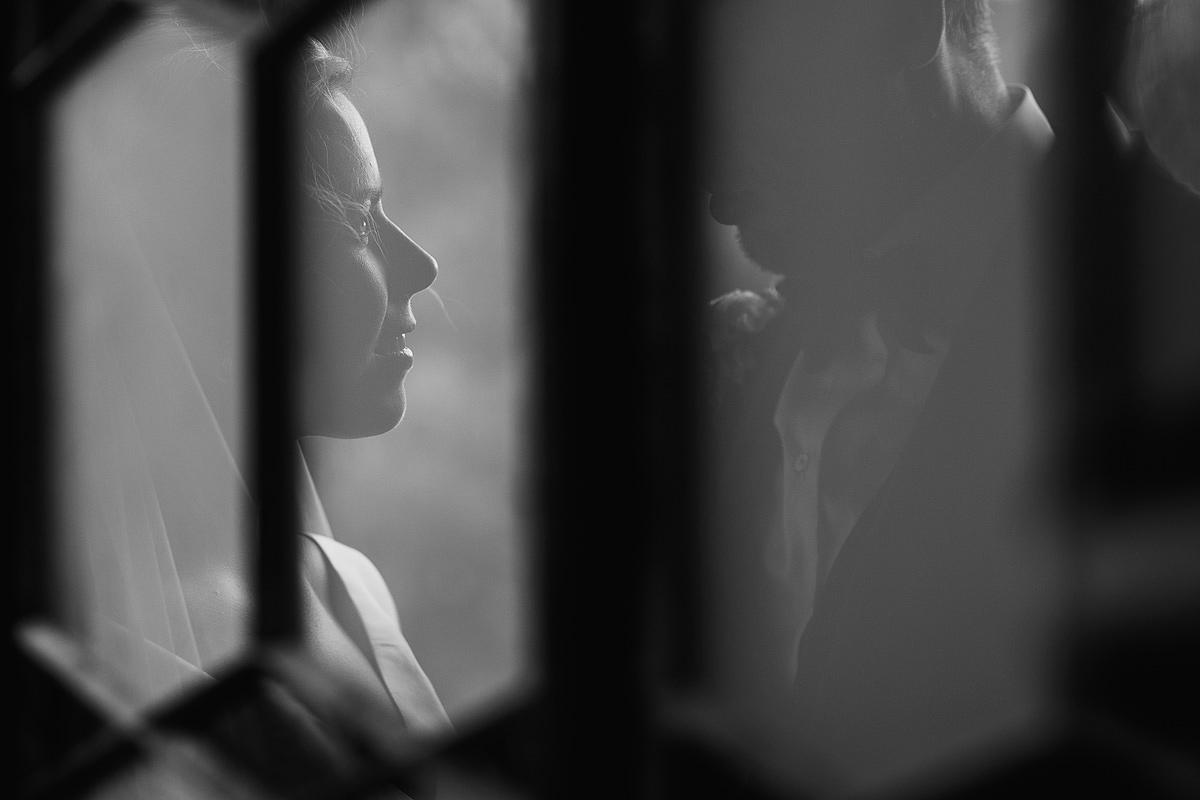 Romantic wedding photo at Hotel Endsleigh Devon