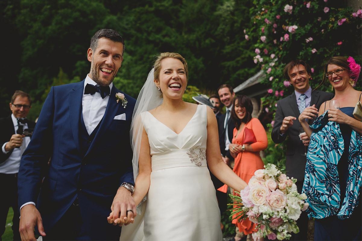 Natural wedding photos at Hotel Endsleigh Devon