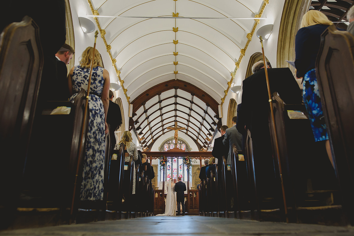 St Petroc's Church Padstow wedding