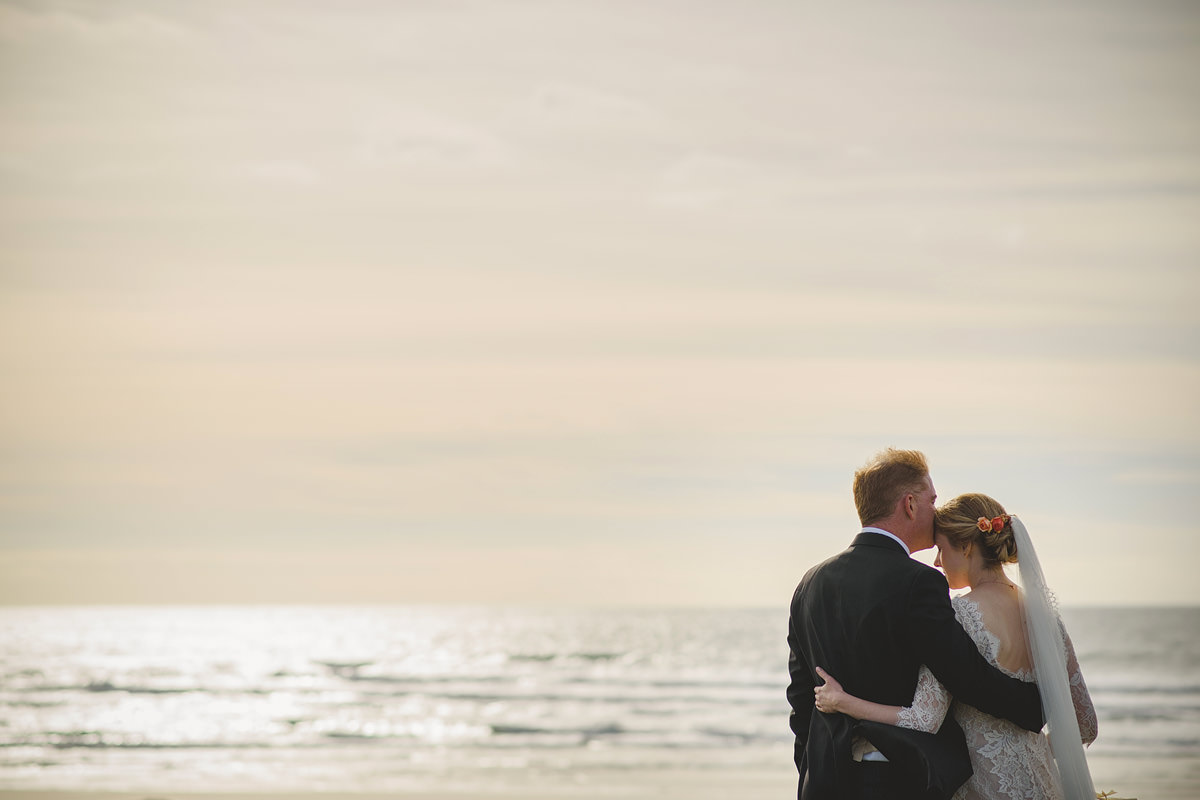 Wedding photos at Trevose Head