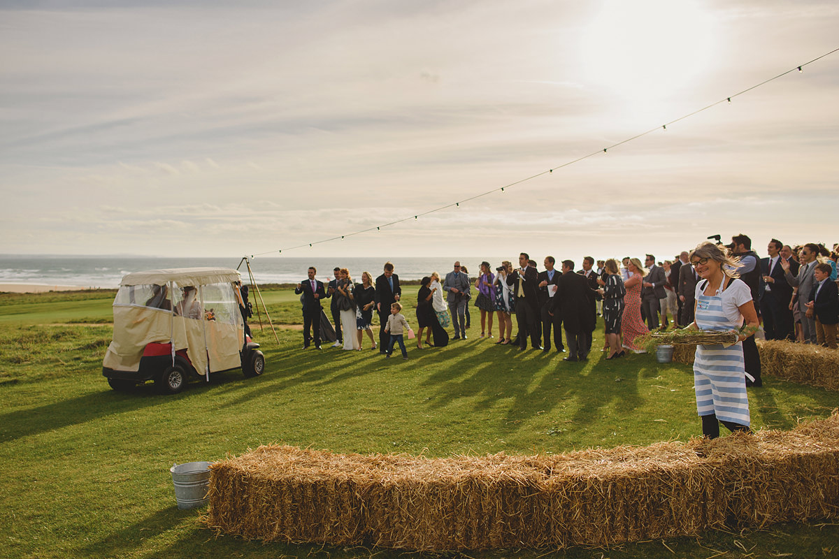 Tipi wedding at Trevose Head