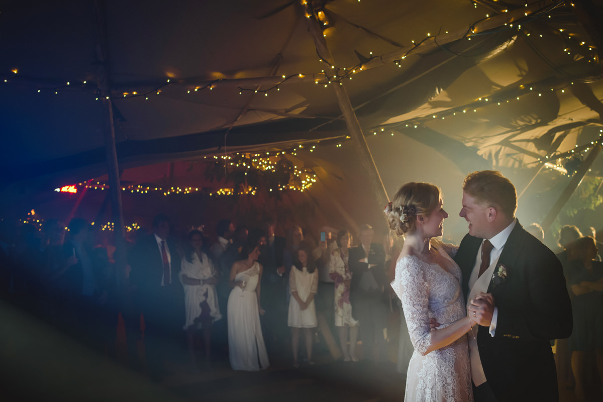 First dance at a Trevose Headland wedding