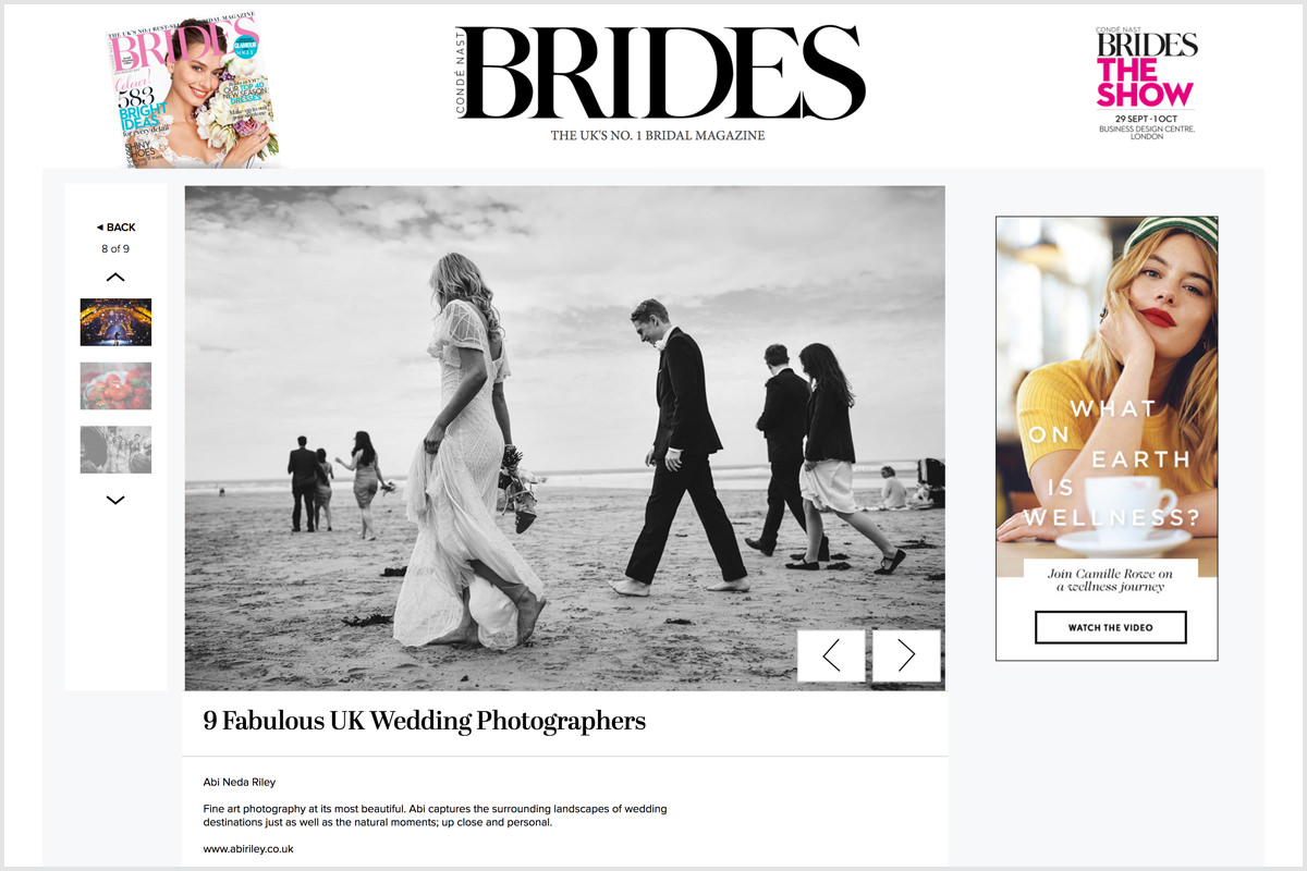 top 9 wedding photographers uk abi neda riley