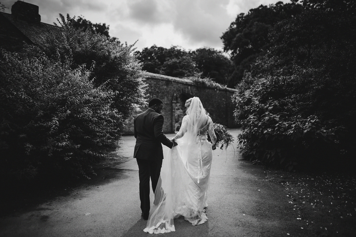 Pencarrow House wedding photos