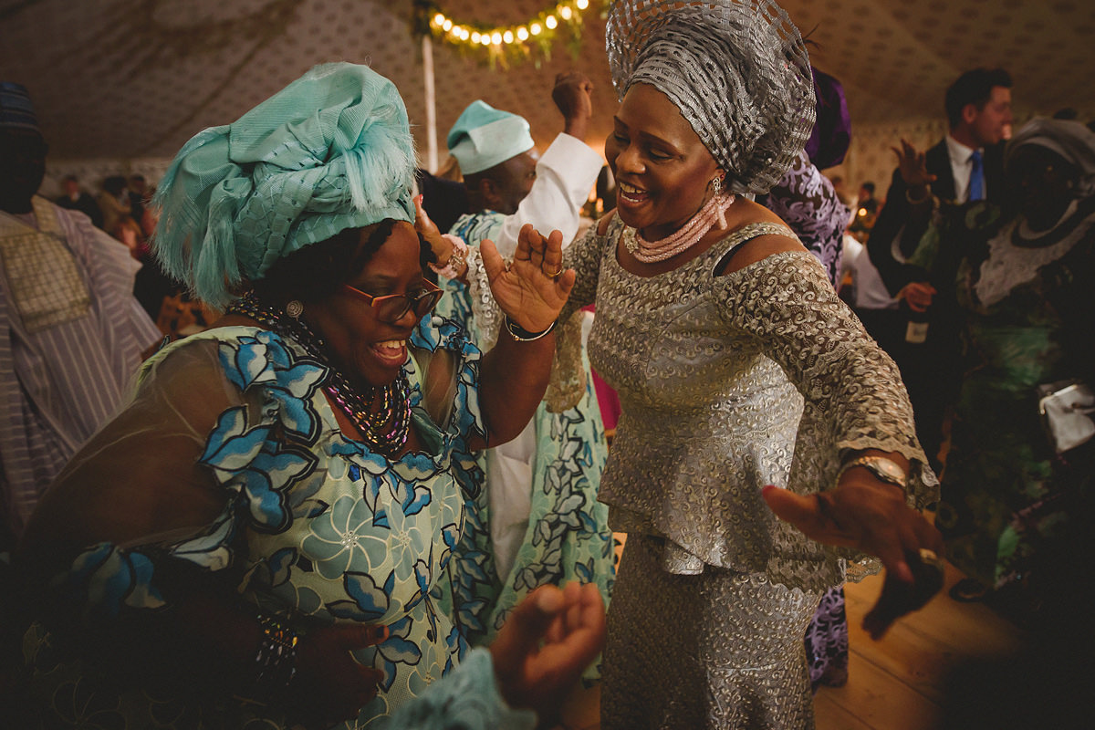 Nigerian wedding at Pencarrow House