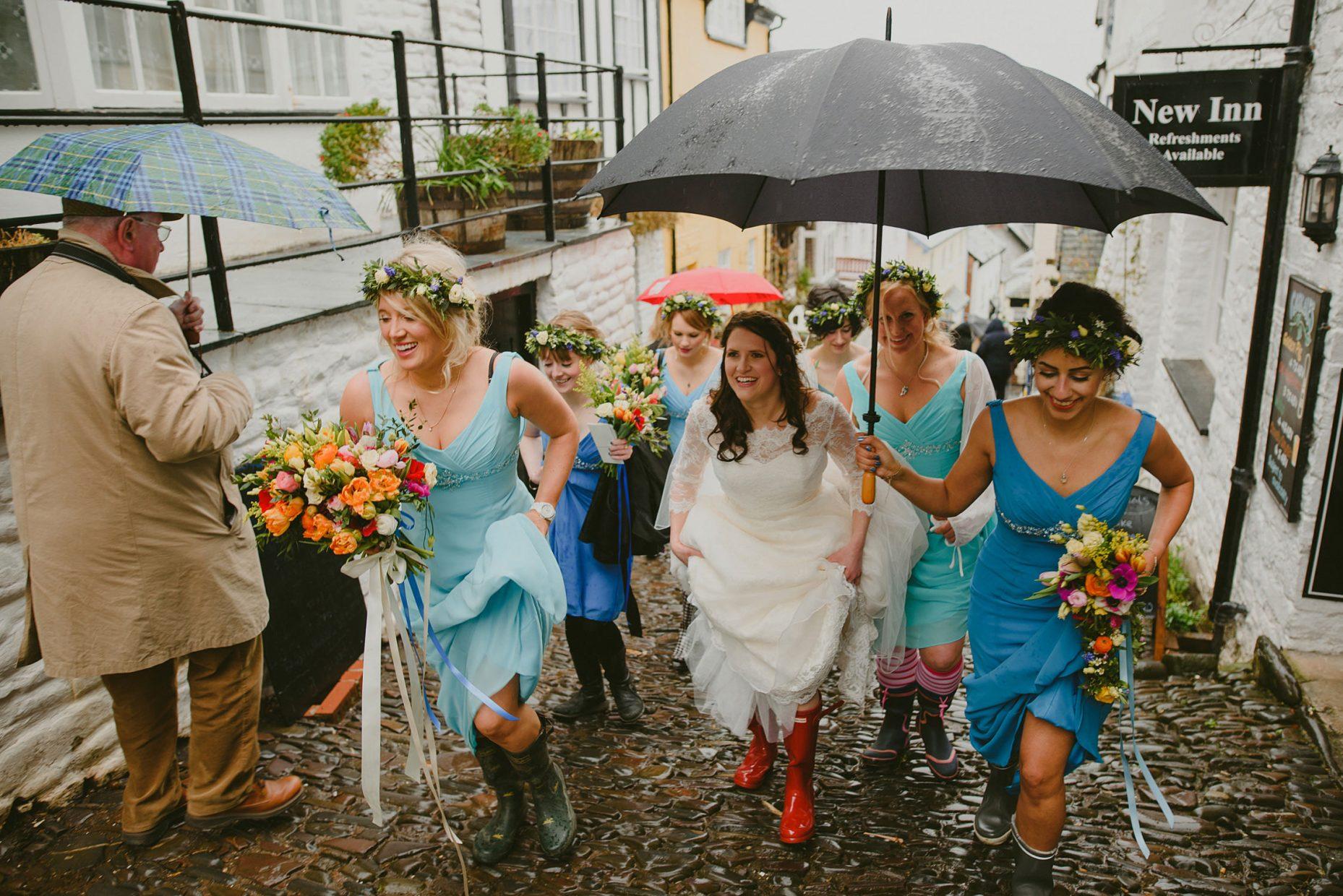 clovelly wedding photos