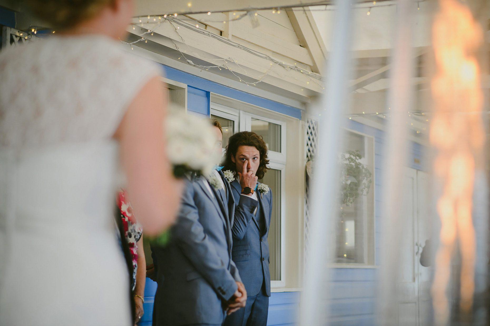 lusty glaze emotional groom photo