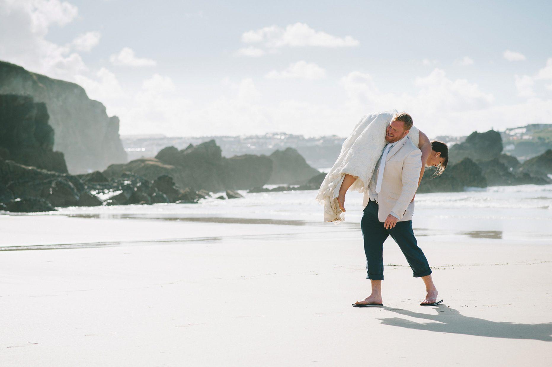 lusty laze beach wedding