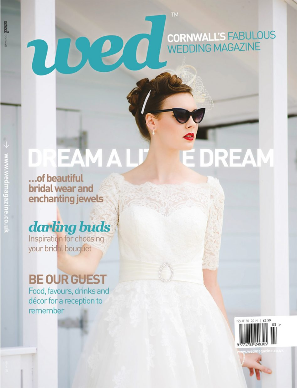 wed magazine cornwall 30 cover