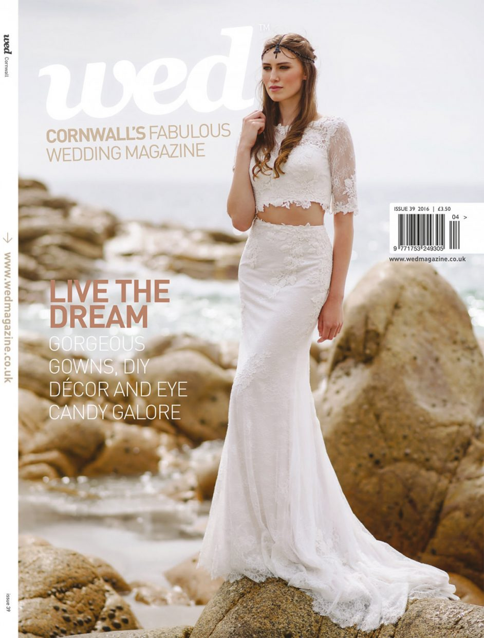 wed magazine cornwall 39 cover