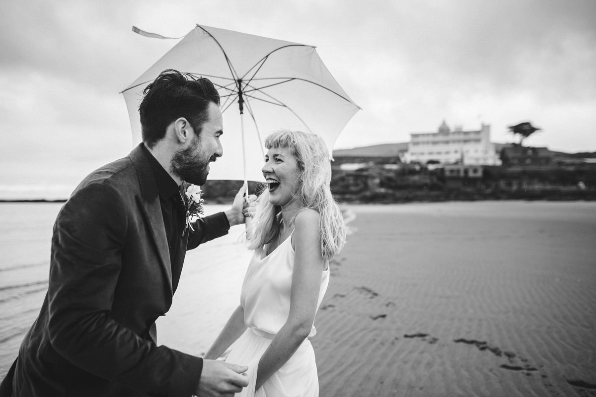 Burgh Island Wedding Photos.