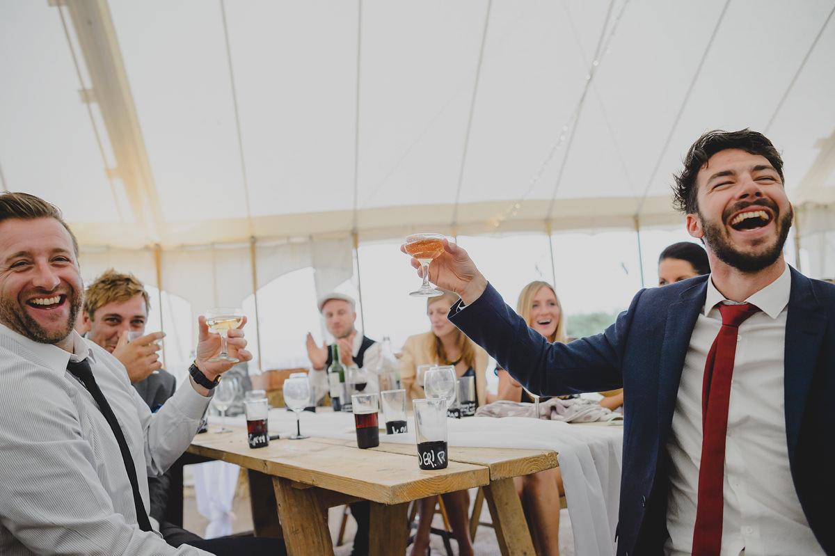 st enodoc church wedding photos