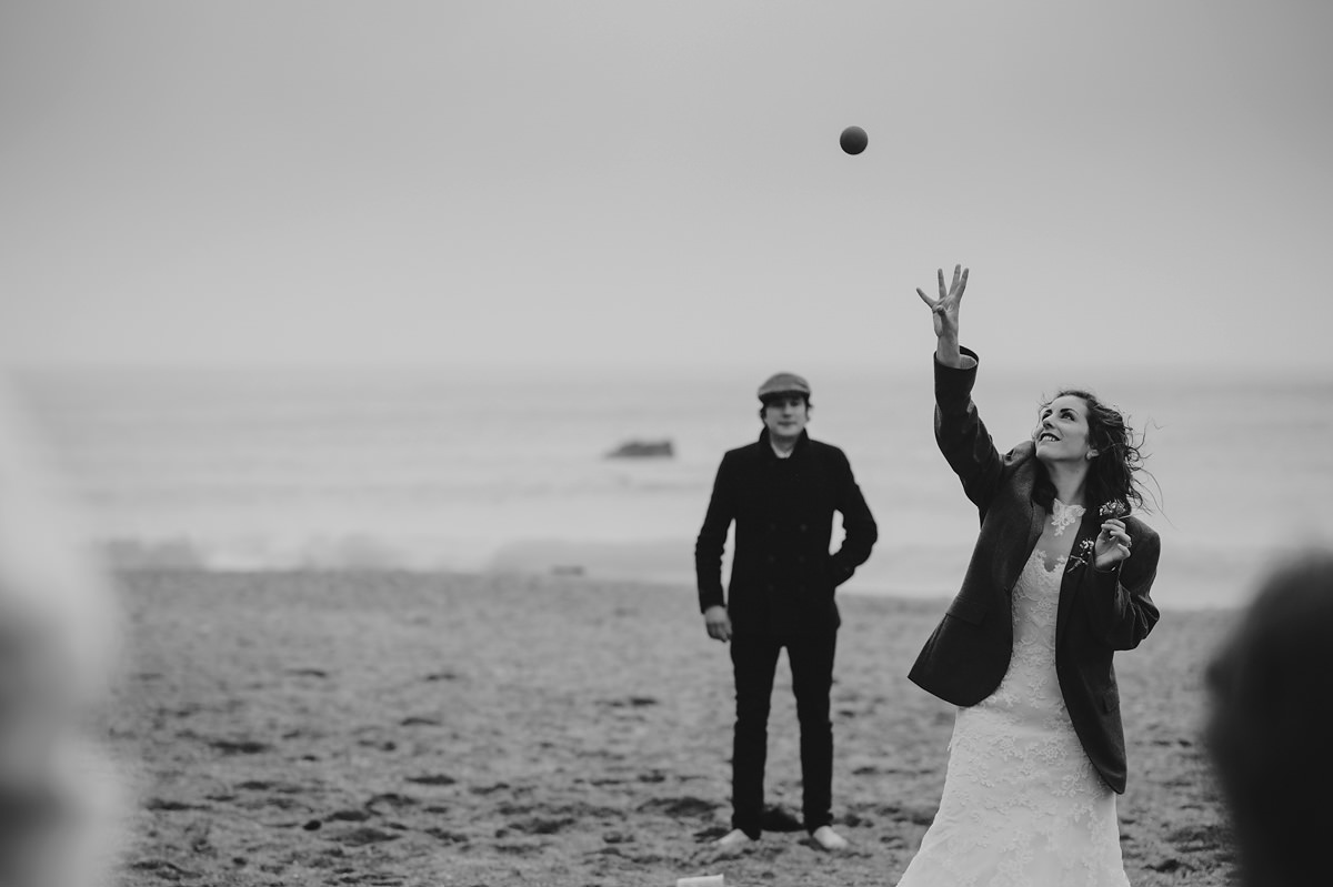 lusty glaze beach wedding photographer