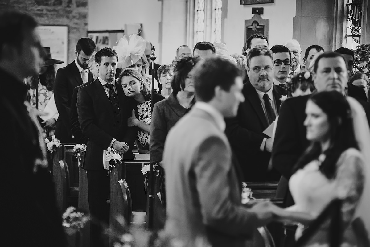 Ceremony at Georgeham Church