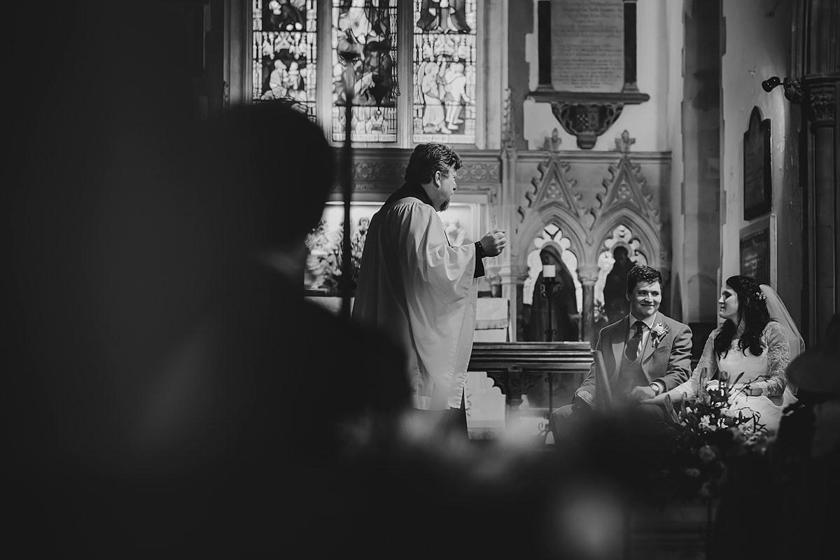 Wedding at Georgeham Church, Croyde