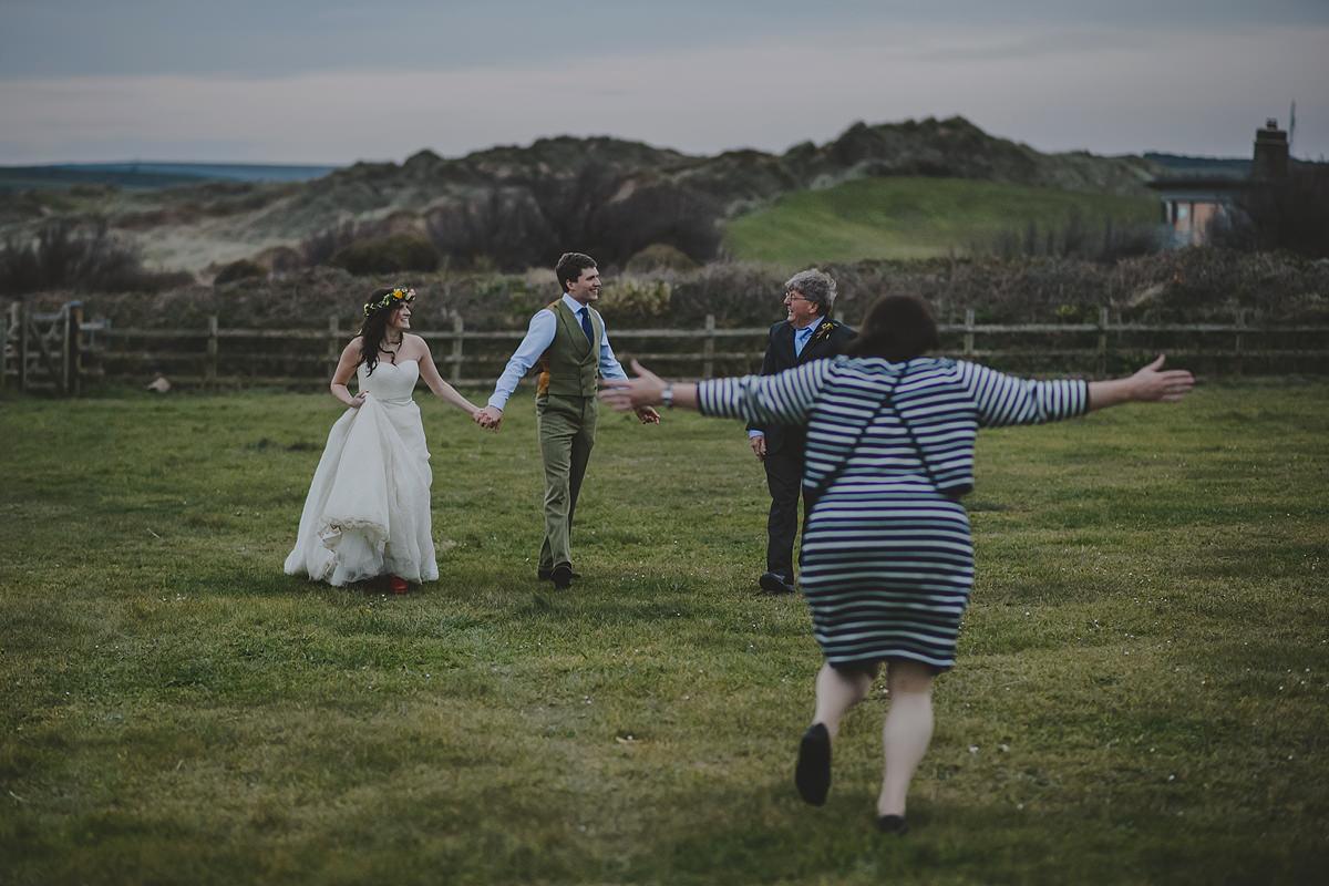Croyde Bay wedding photography