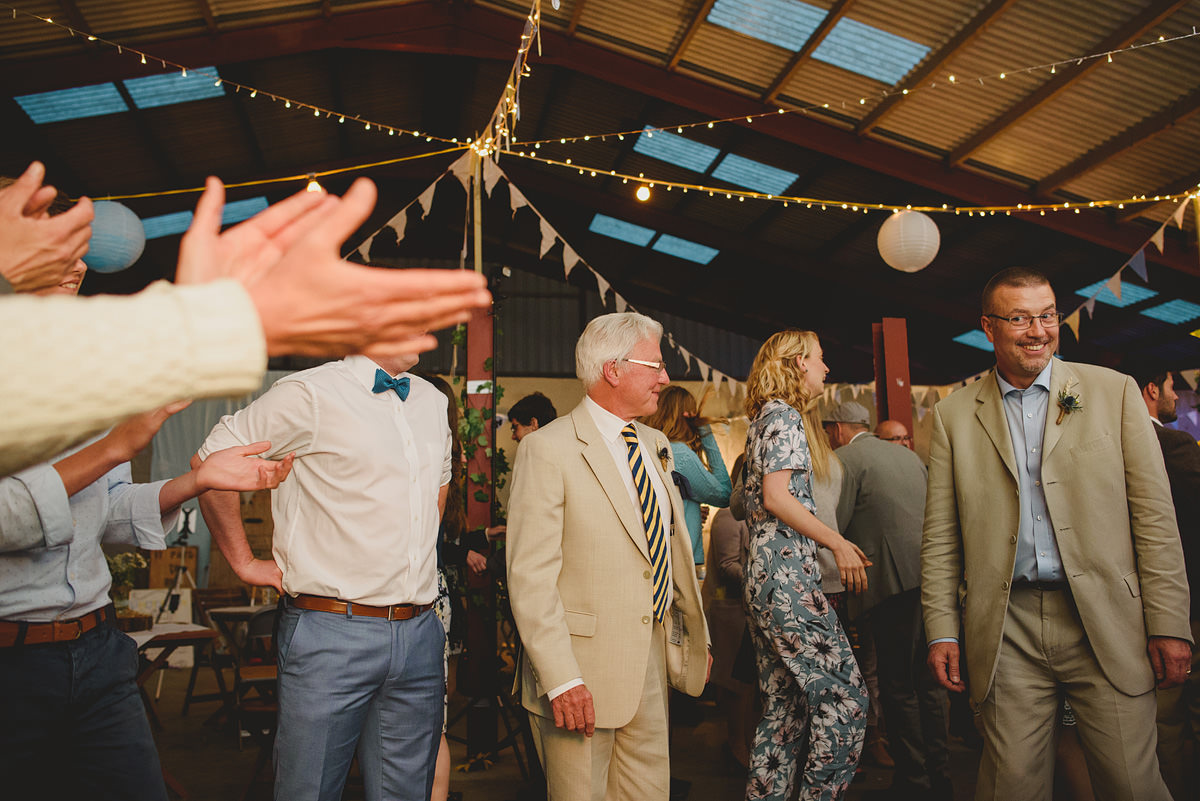 Shropshire wedding barn party