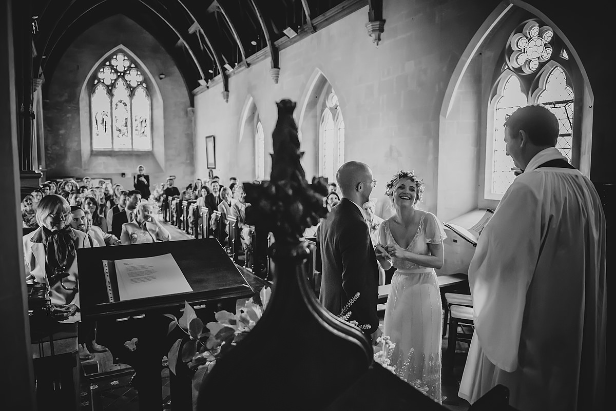 St Matthew Church Ashburton wedding photography