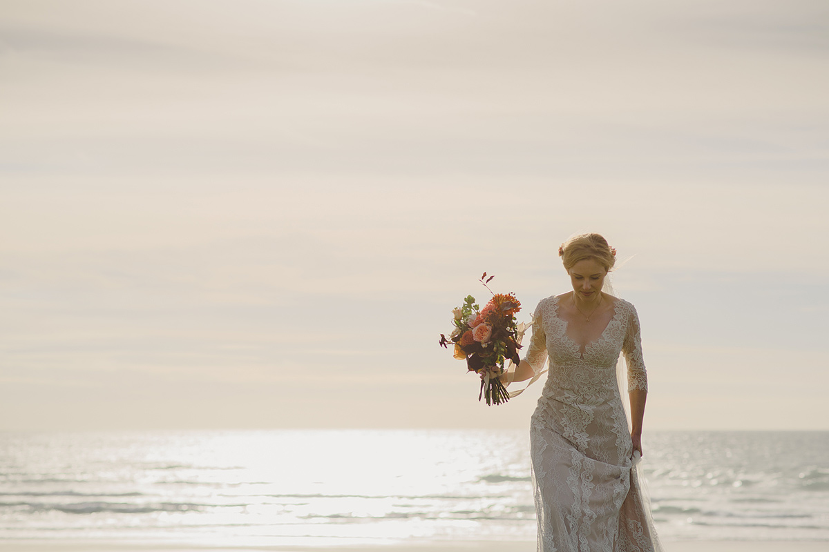 Cornwall wedding photographer Trevose Head