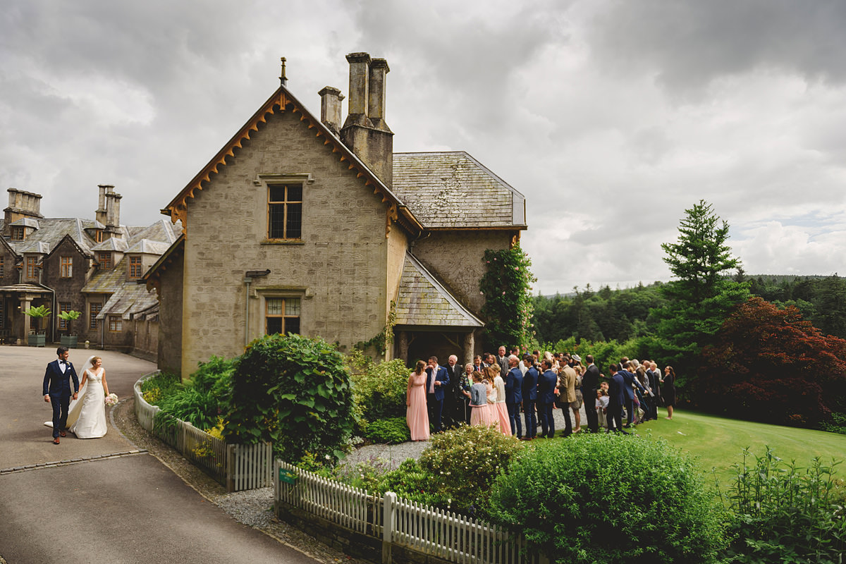 Wide shot of Hotel Endsleigh