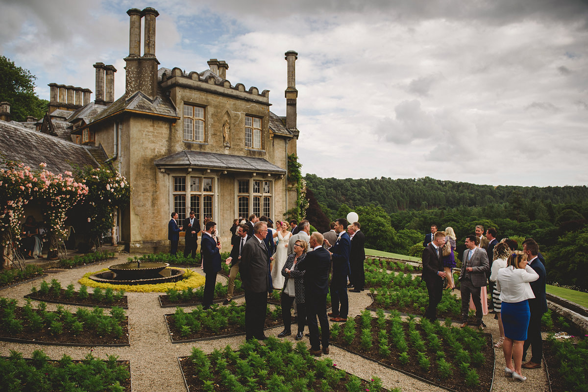Guests at a Hotel Endsleigh wedding