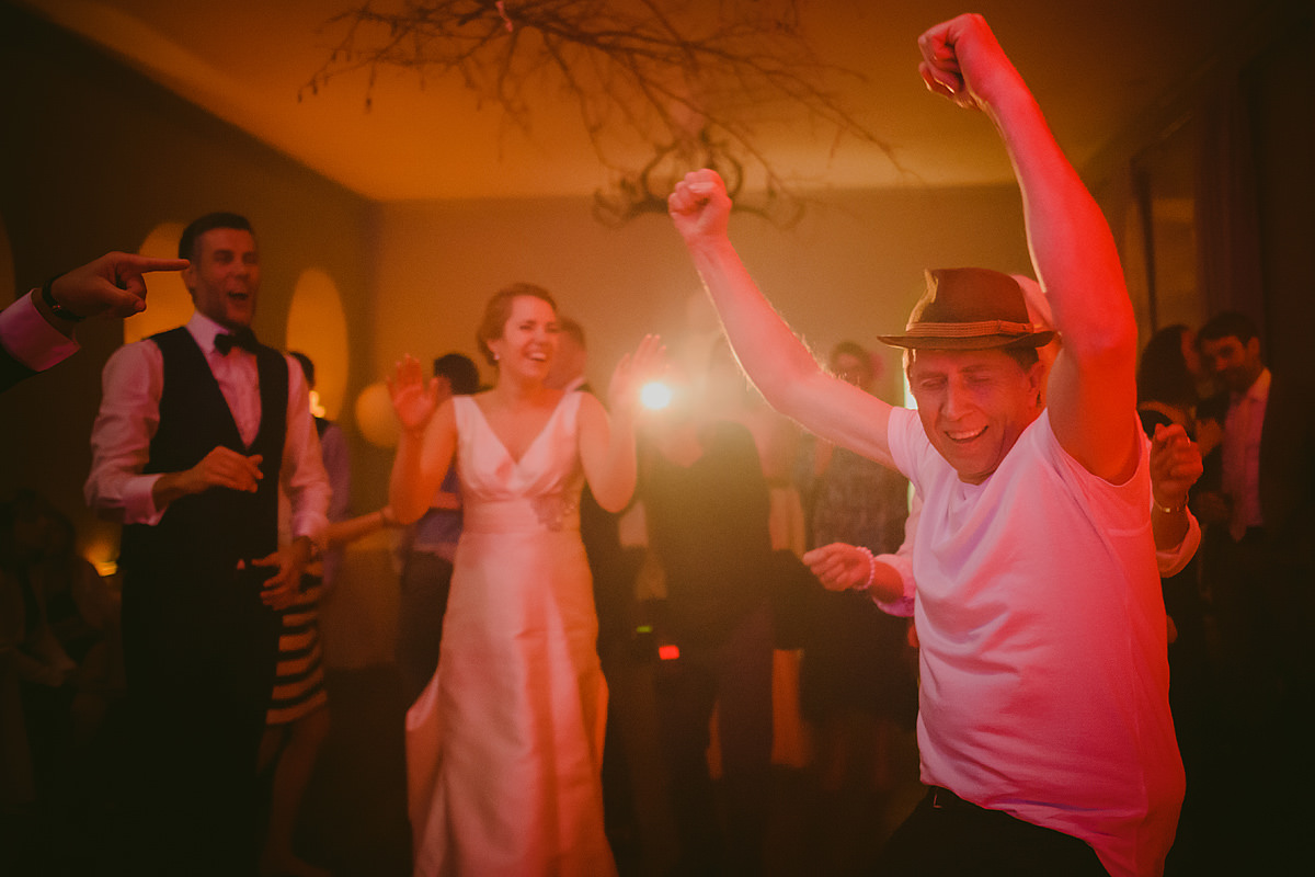 Father of the bride dancing