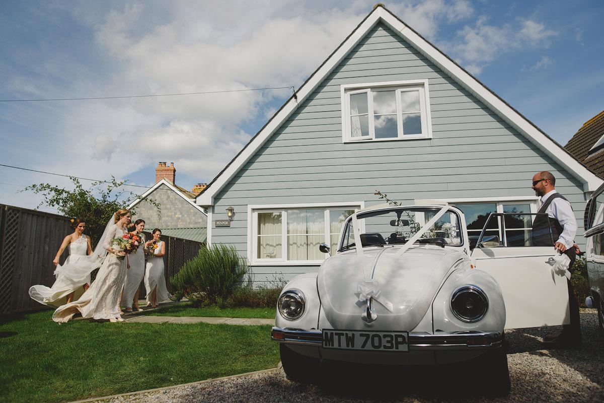 Wedding car Trevose Headland