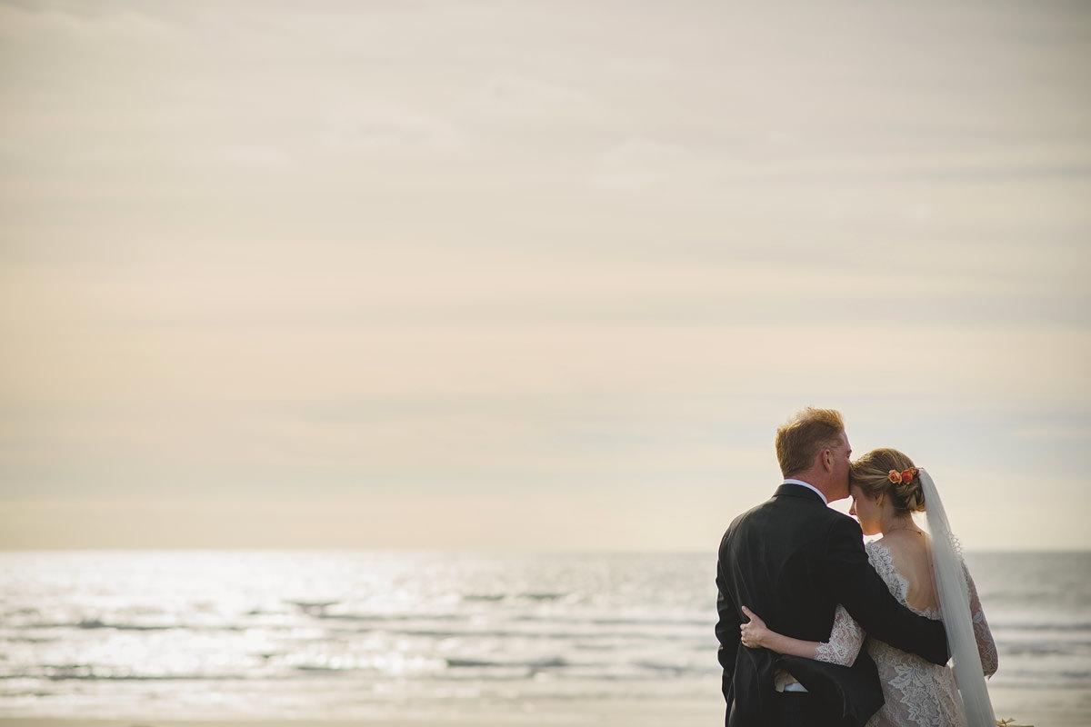 Wedding photos at Trevose Head