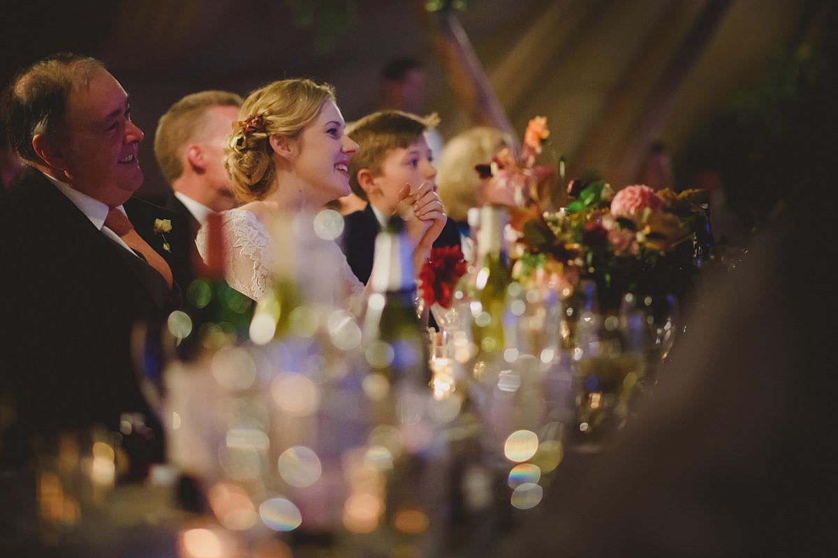 Trevopse Head tipi wedding photo
