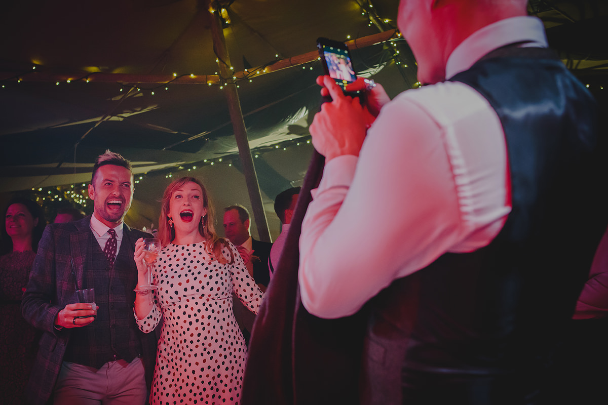 Evening party at a Trevose wedding