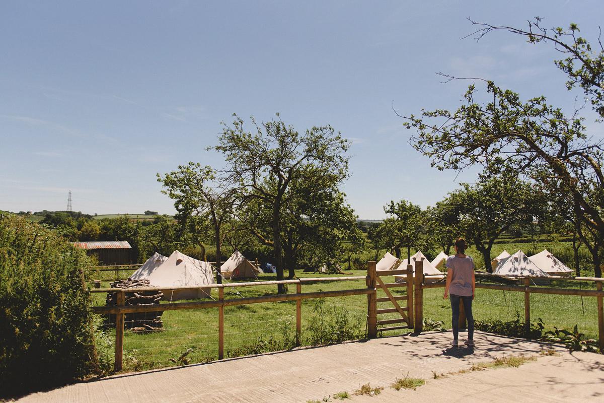 Camping at Anran