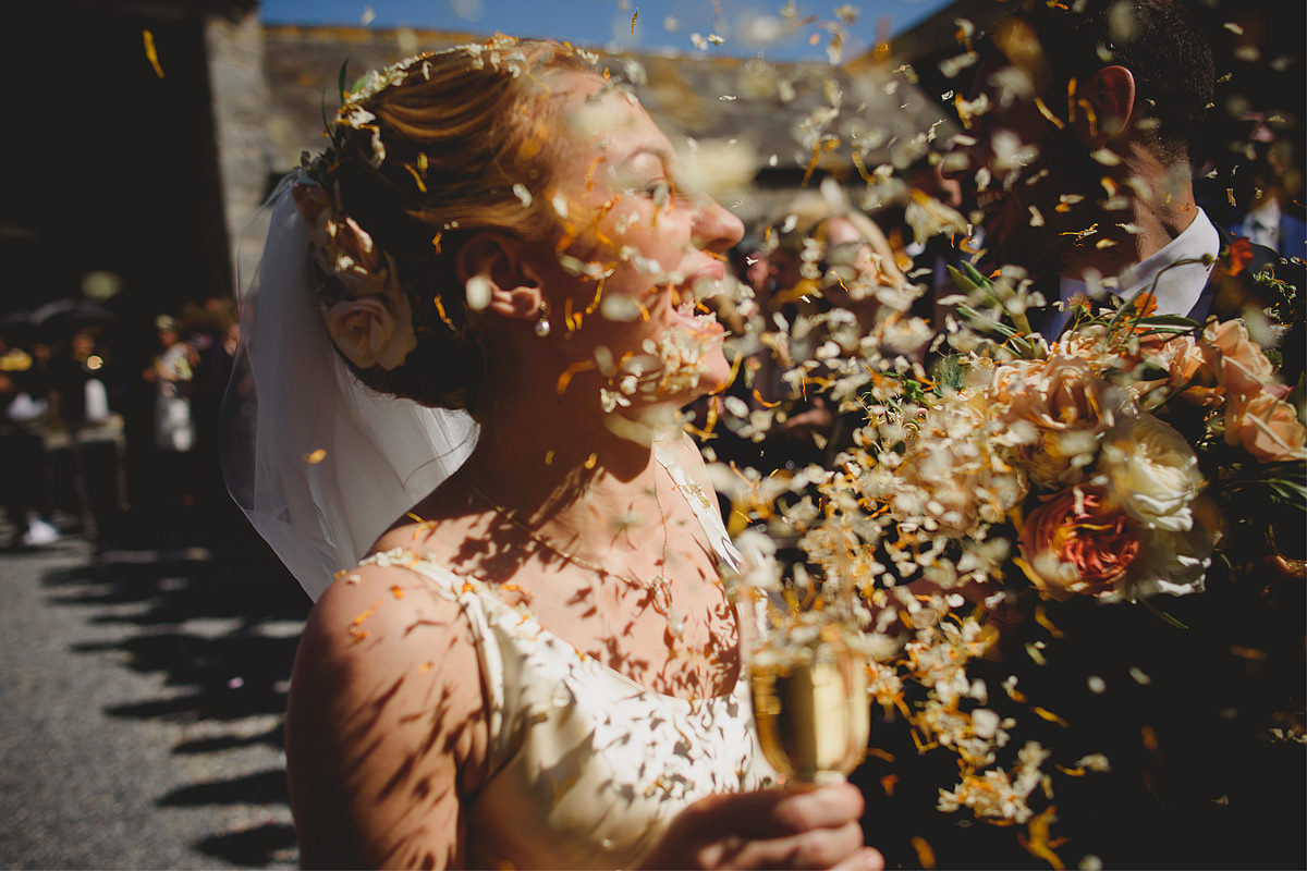 Confetti at Anran barn
