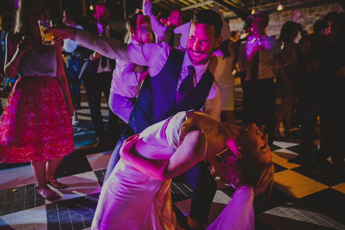 Bride and groom first dance at Anran