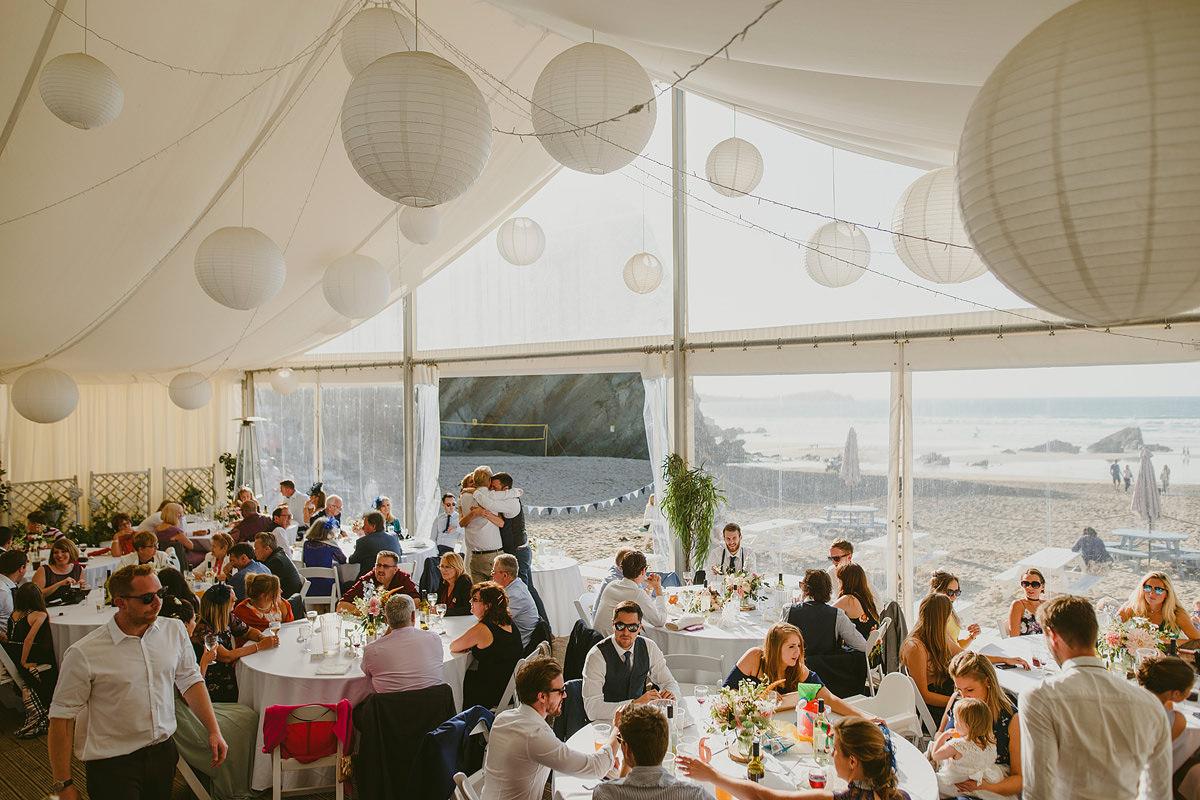 Lusty Glaze wedding venue