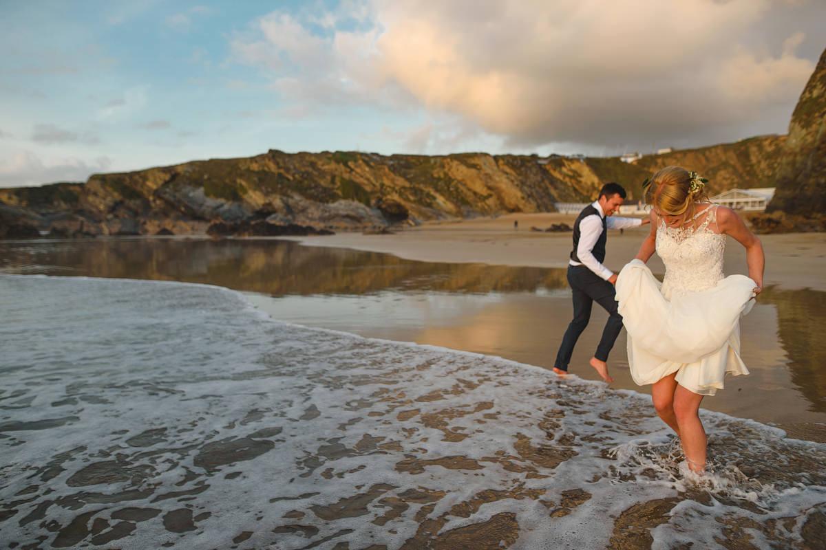 Lusty Glaze wedding photos