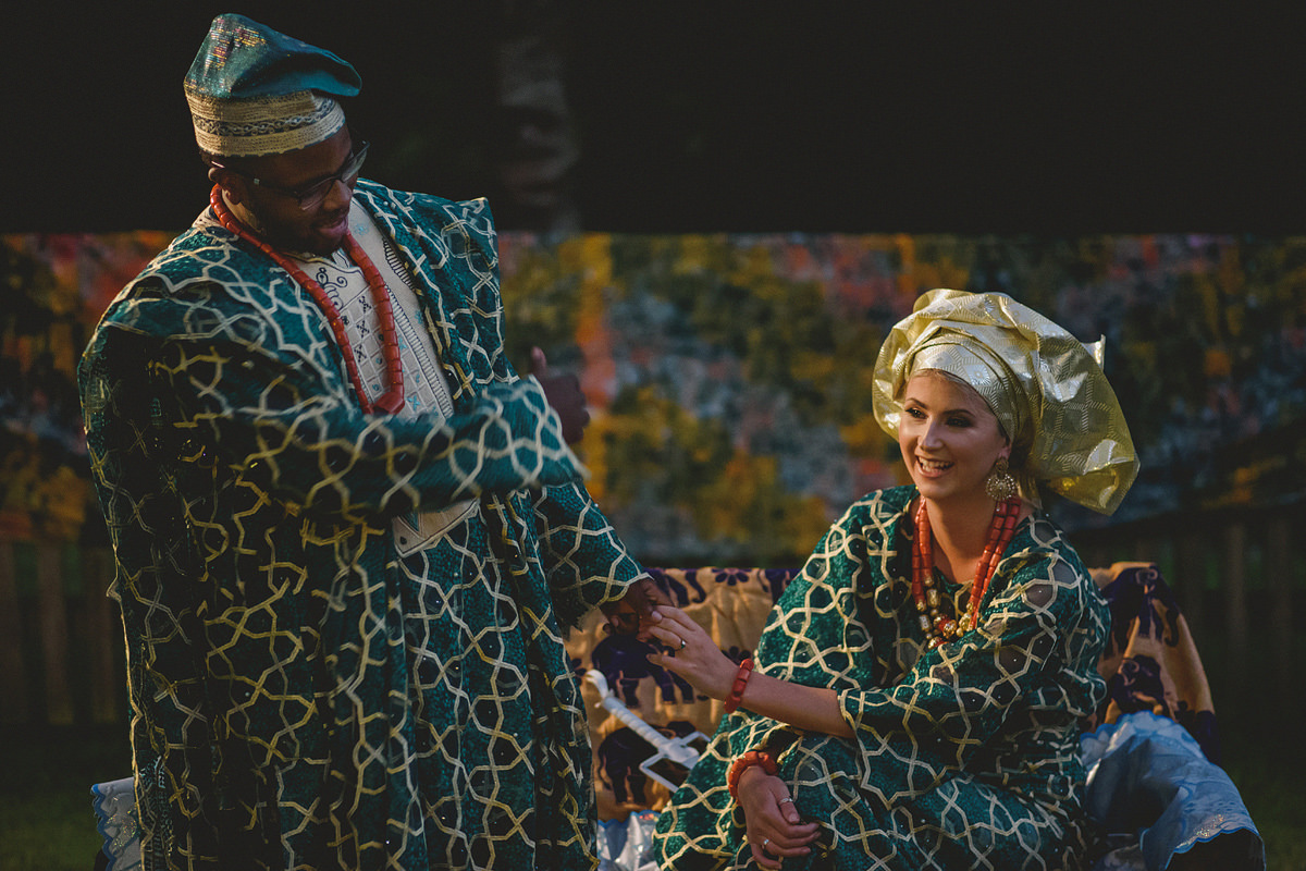 Nigerian wedding at Pencarrow House in Cornwall