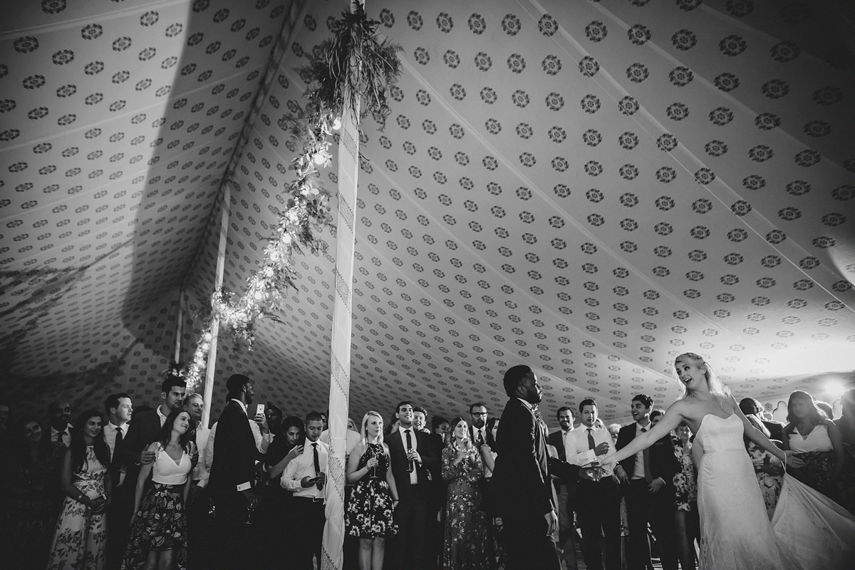 First dance at Pencarrow House in Cornwall