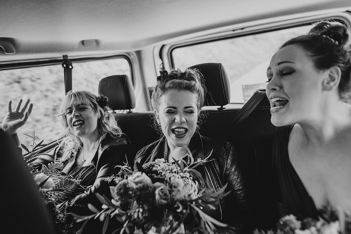 Bridesmaids documentary photography