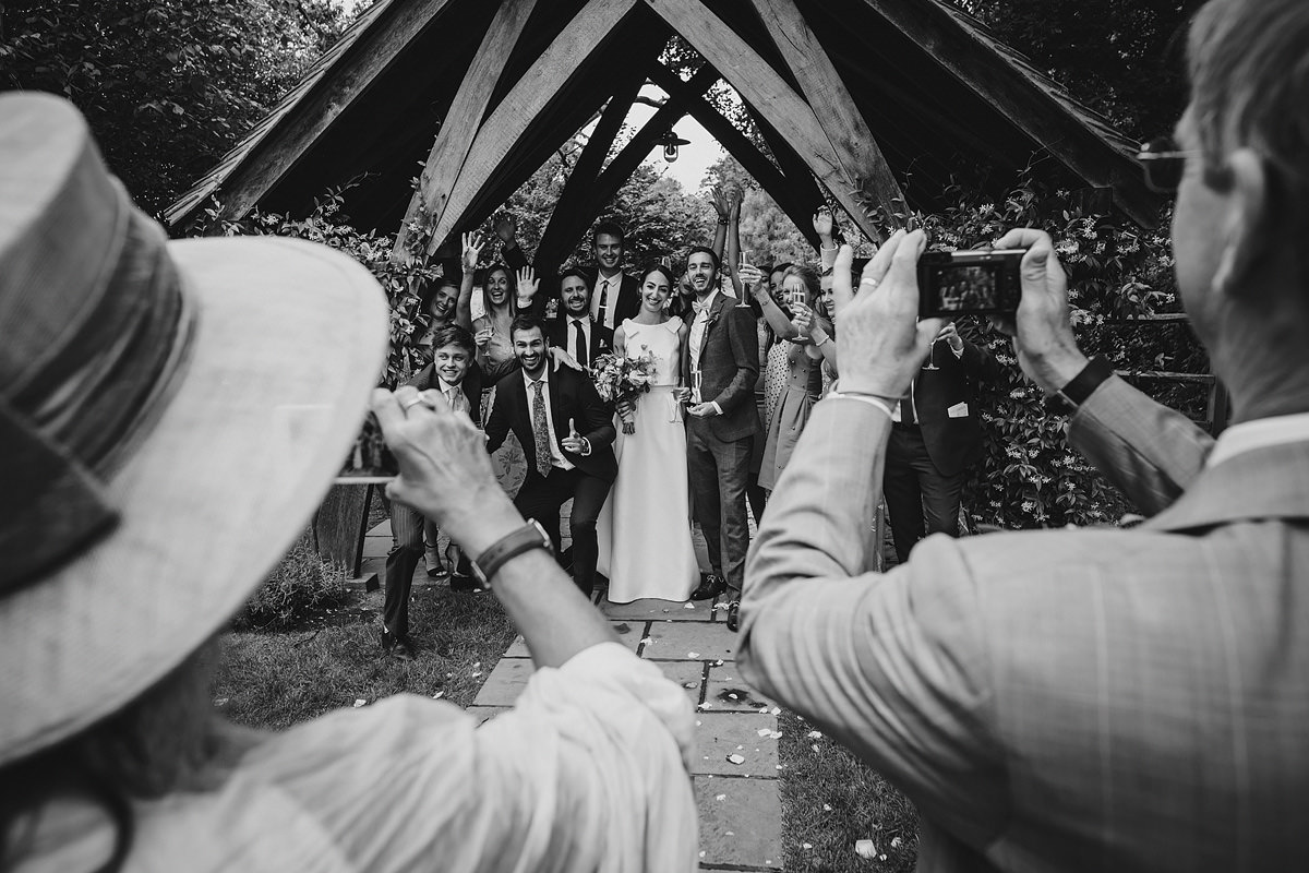 Documentary wedding photographer Cornwall