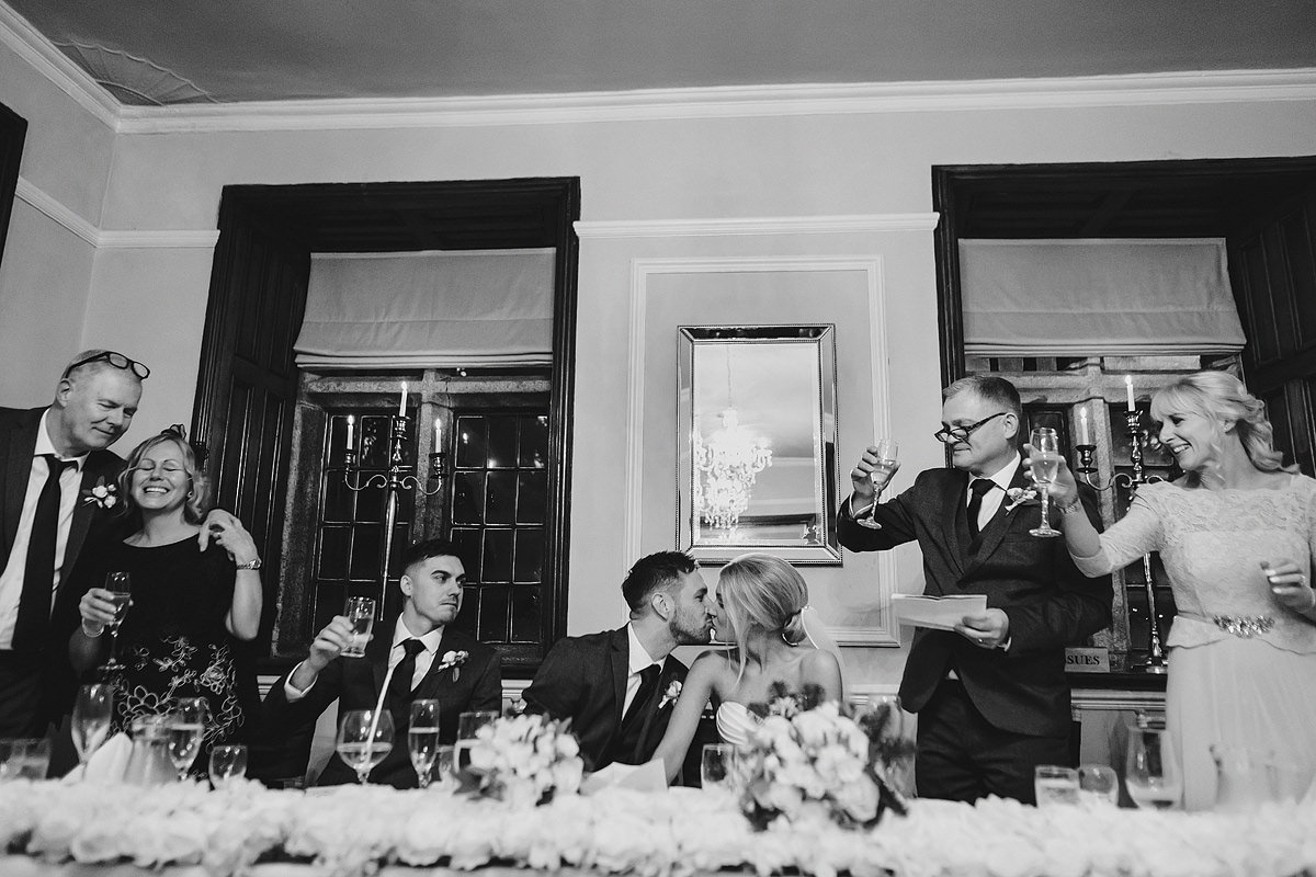 Speeches at a Langdon Court wedding