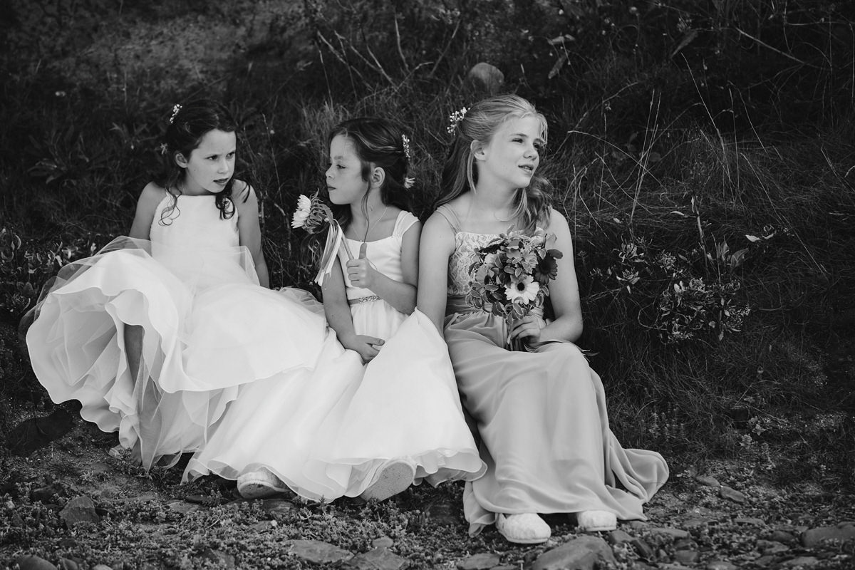 Flower Girls wedding photograph