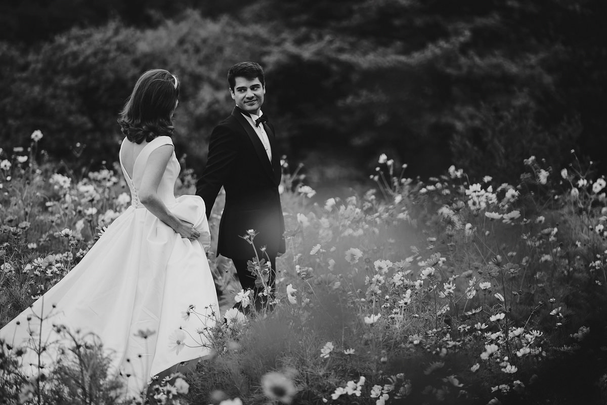 Hotel Endsleigh wedding photo